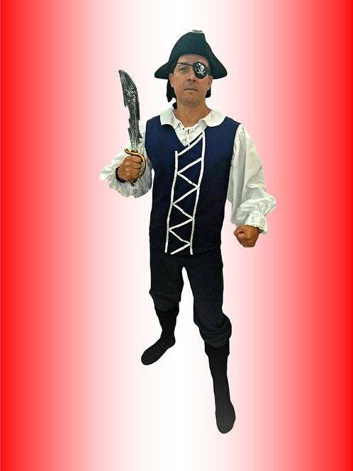 Pirata Azul Cód 1532