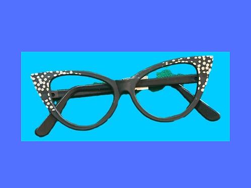 Óculos Gatinha Preto