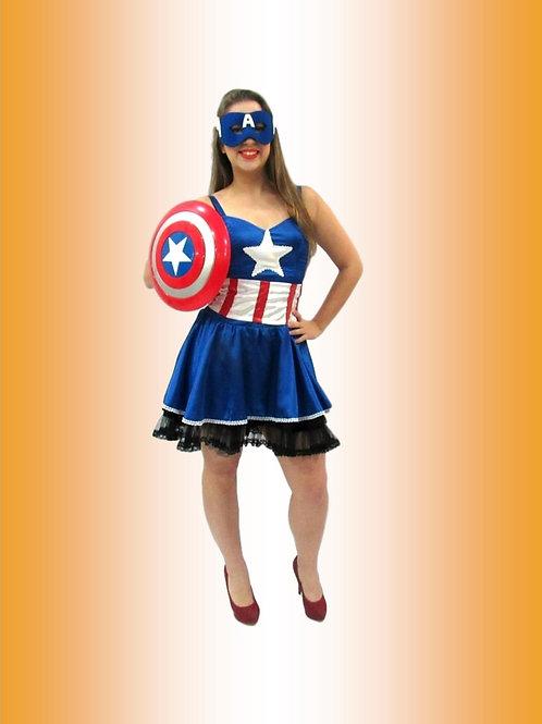 Capitã América Cód 4033