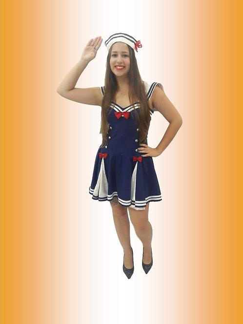 Marinheira Vestido Cód 155