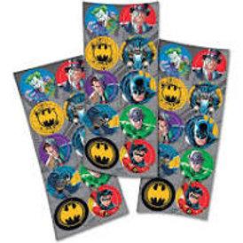 Etiquetas adesivas Batman 30 unid.
