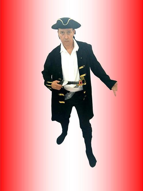 Pirata Casaco Cód 459