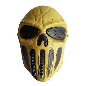 Máscara Halloween Amarela