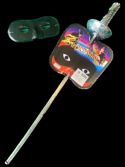 Espada Zorro c/máscara