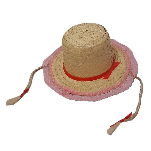 Chapéu de Palha Caipira - Feminino