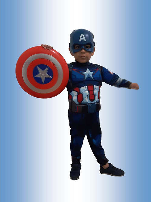 Capitão América Inf Cód 955