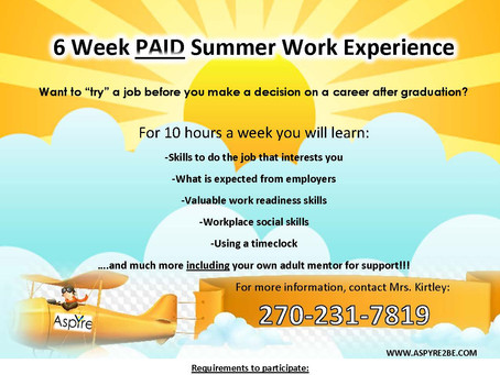 Summer Work Program