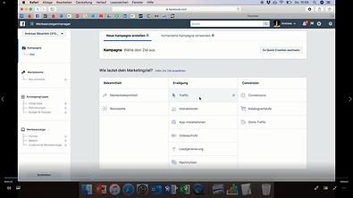 Bestimme Dein Marketingziel bei Facebook