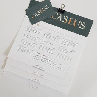 CASEUS - Restaurant et fromages affinés