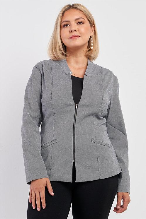Gray Dress Up Dress Down Jacket