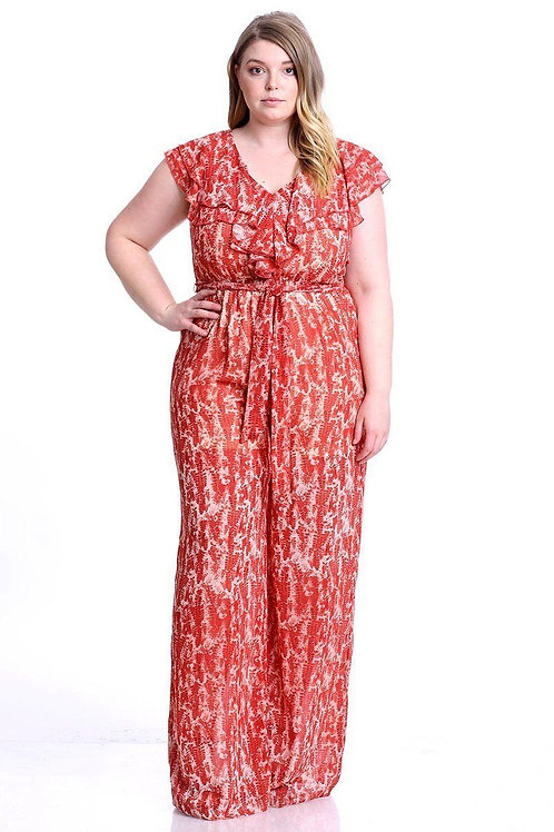 Amber's Spring Jumpsuit
