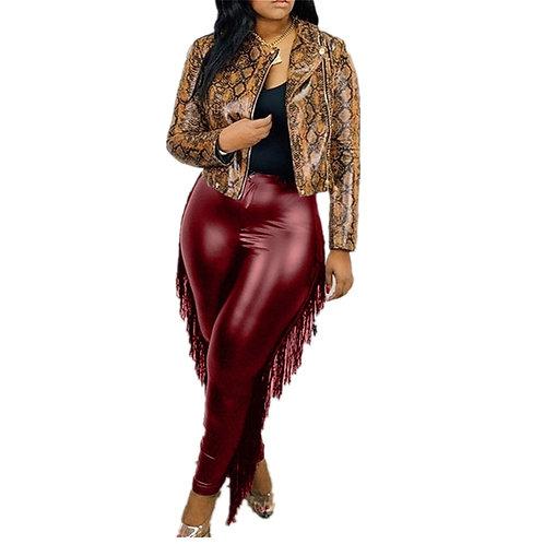 Leather BOD-EY Pants