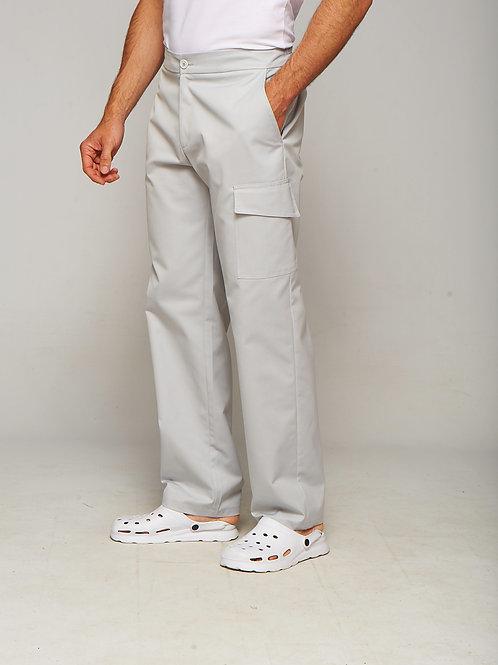 Pantalon Oscar gris clair
