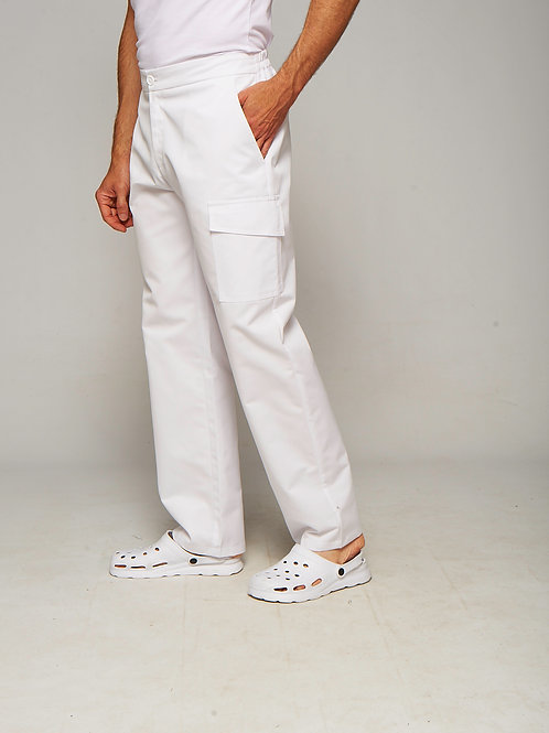 Pantalon Oscar blanc