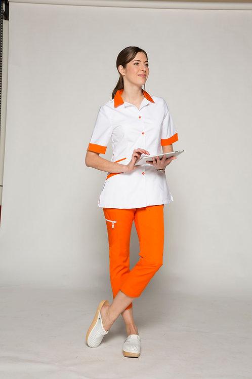 Modèle Florence banc/orange