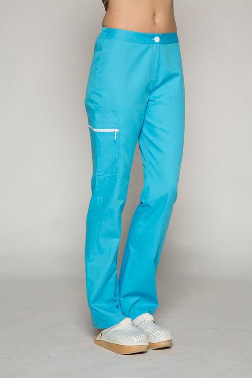 Pantalon Osiris turquoise