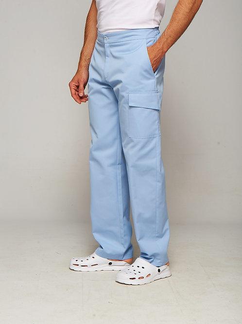 Pantalon Oscar bleu ciel