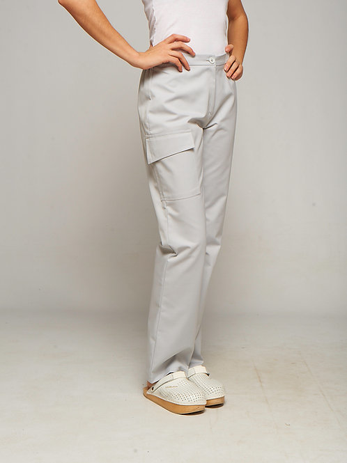 Pantalon Lola gris clair