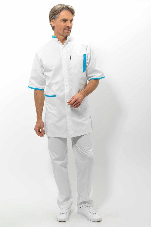 Modèle GAEL Blanc/Azur