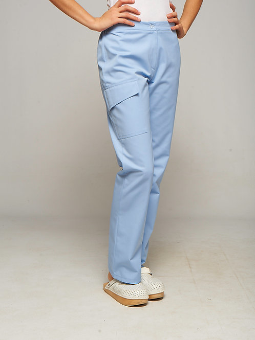 Pantalon Lola bleu ciel