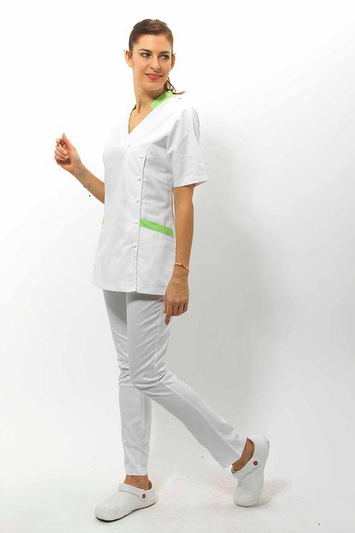 Modèle Alice Blanc/Anis