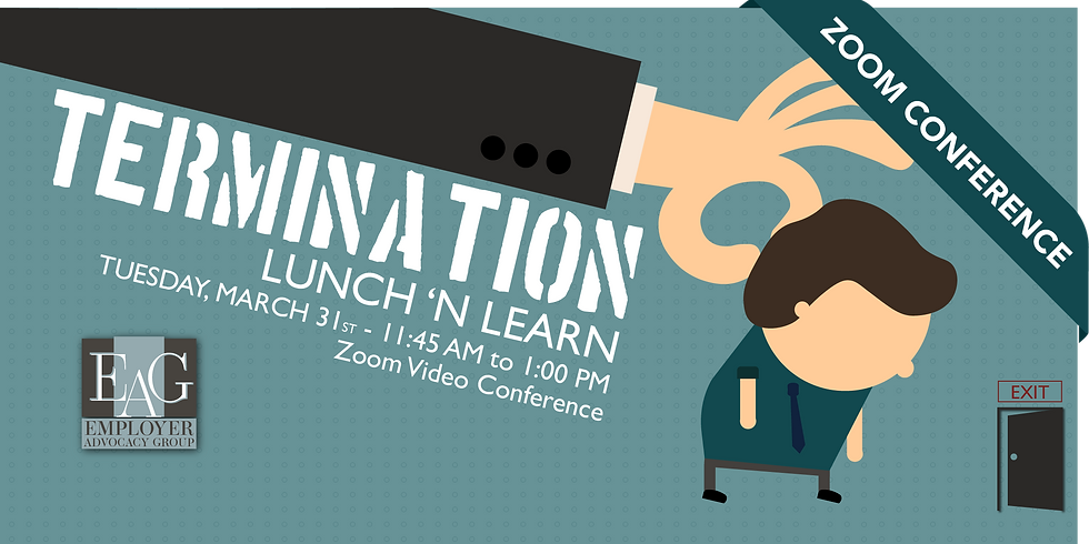 Lunch 'n Learn | Termination