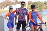 Macaquinhos Race laranja Camisa Game