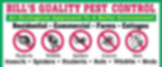 Bill's Quality Pest Control logo