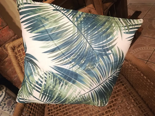 Tropical Print Cushion