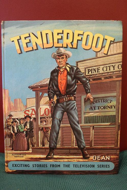 Tenderfoot Comic Book - 1960s