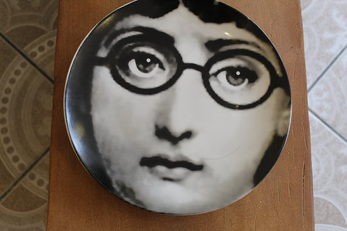 Glasses - Lady Face Plate