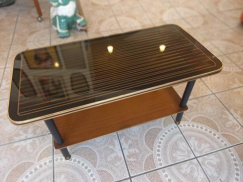 1960s  glass top Coffee Table