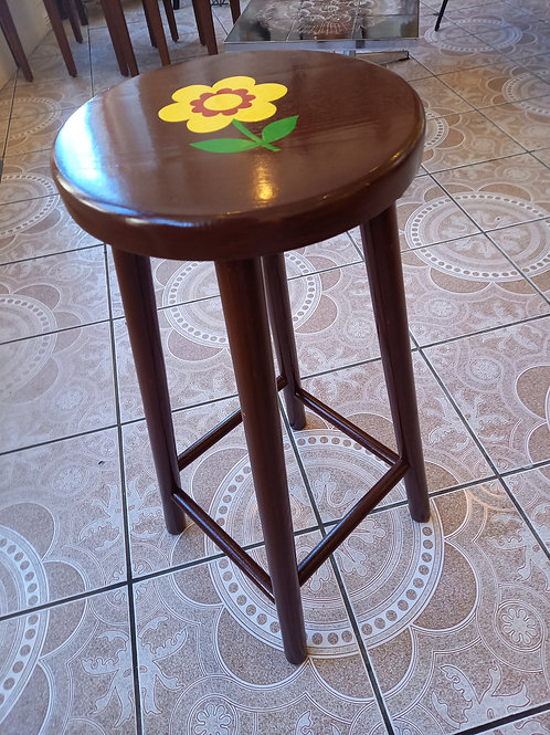 Flower Power  High stool