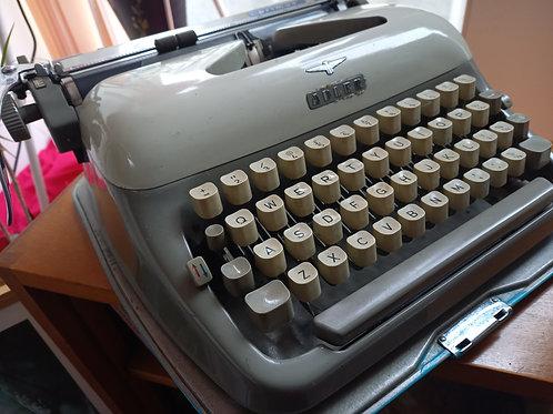 Vintage Adler Typewriter