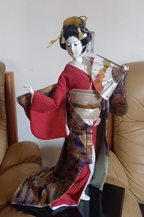 Vintage Geisha Lady Decor