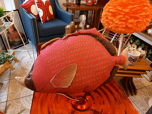 Roger the Red Grouper - Fish Cushion