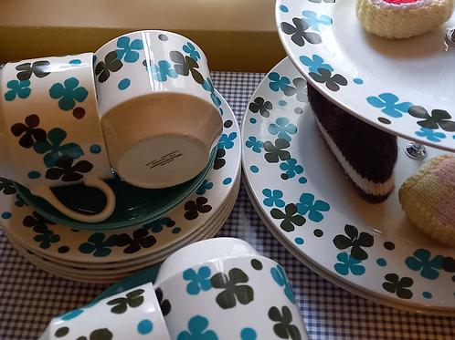 Vintage Midwinter Afternoon Tea Set