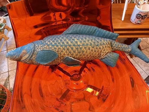 Big Blue Bass - Fish Cushion