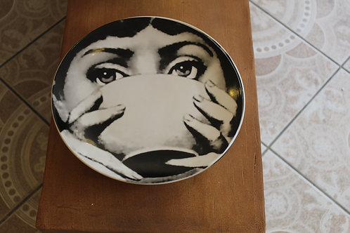 Drinking - Lady  Face Plate