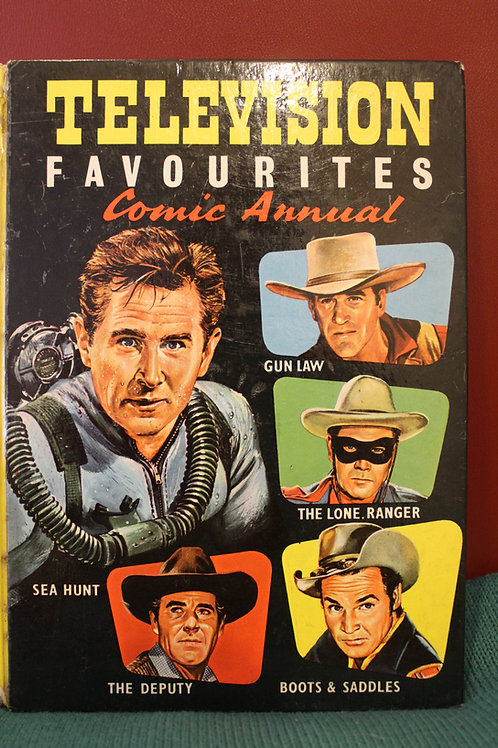 Television Favourites Comic Annual
