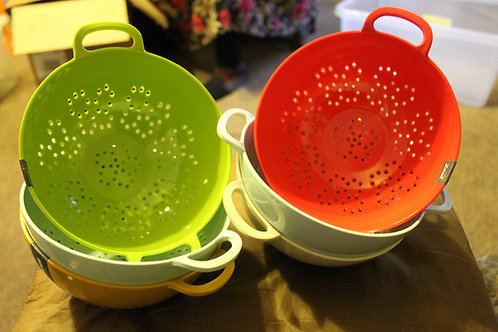 Vintage Coloured Colanders - Small