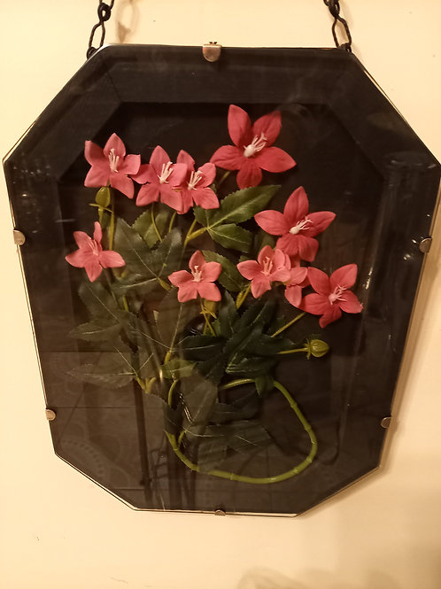 Vintage Flower Wall Art - Two