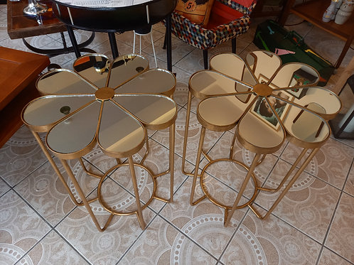 Flower Power Side Tables