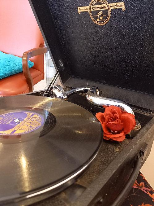 Columbia Picnic  Gramophone