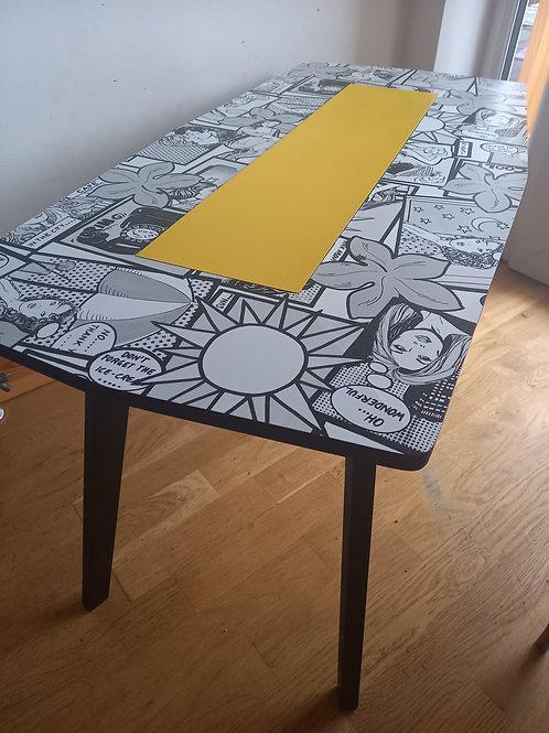 Comic Coffee Table