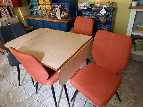 Vintage Breakfast Table and Chairs