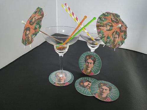 Frida Kahlo Cocktail Set