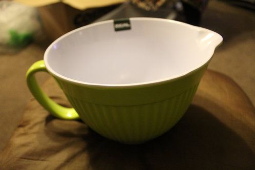 Mixing Bowl with Lip - Lime Green