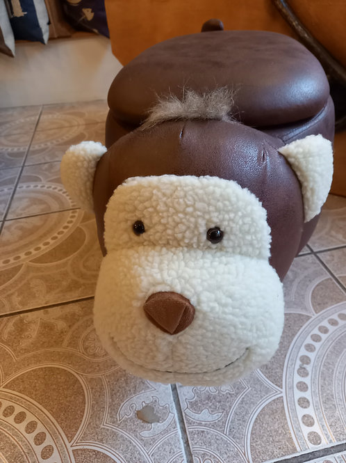 Cheeky Monkey Footstool/Storage
