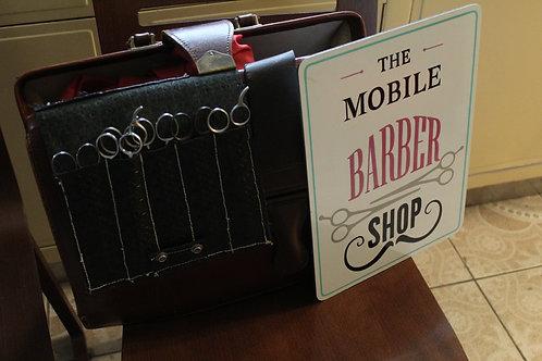 Vintage Mobile Barber  Kit